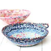 fabric and rope bowls
