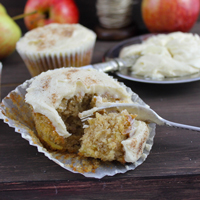 spiced apple cakes